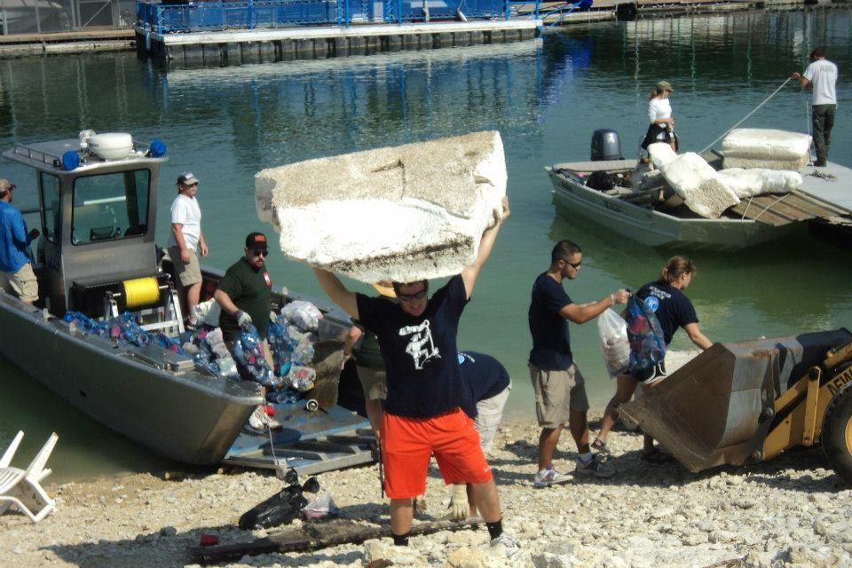 Lake Travis Underwater Cleanup