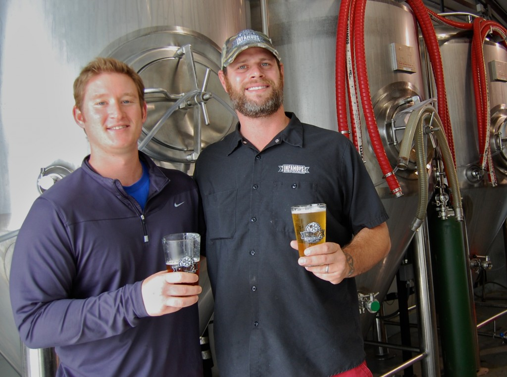 Josh Horowitz and Zack Perry of Infamous Brewing Company