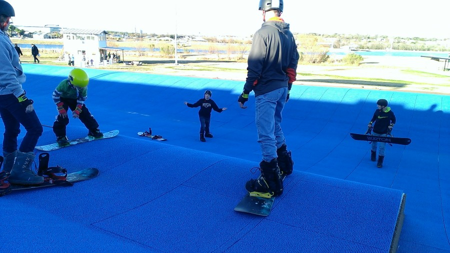 Lessons at the TSR Snowpark