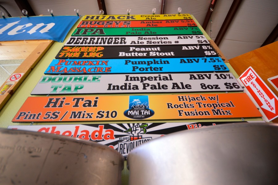 New beers at Infamous Brewing Co