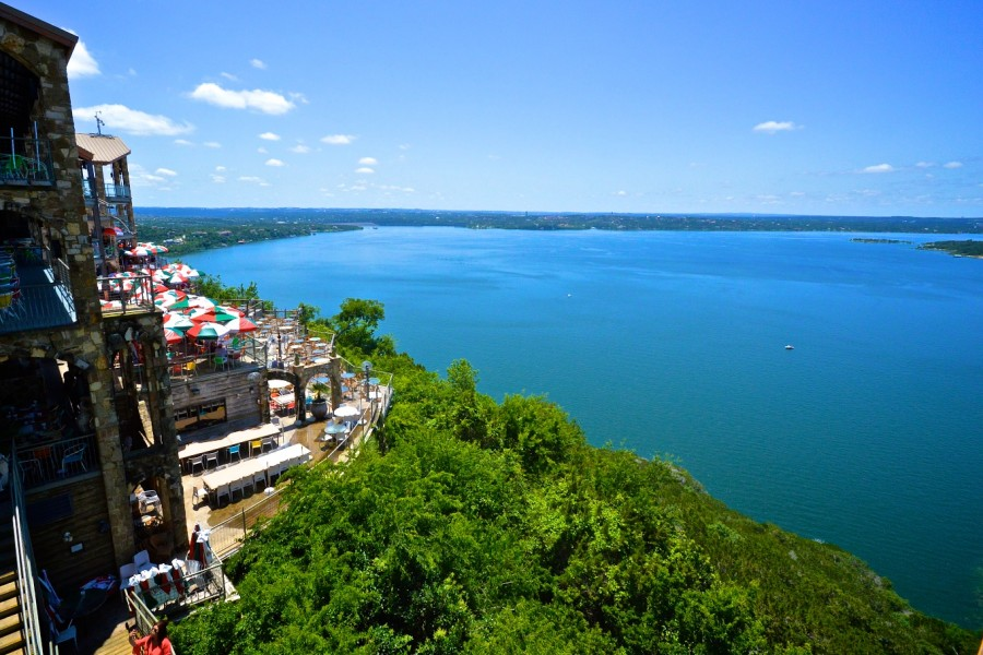 Sunny days at The Oasis on Lake Travis